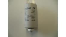 Condensator 5 uF 2x2 stekker aansluiting
