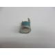 Bauknecht thermostaat, clixon 60 gr kleur blauw. Art:481928248255
