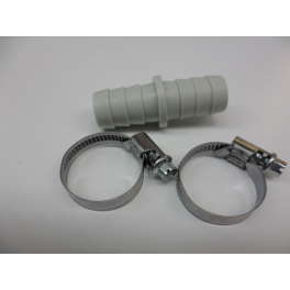 Verbindingsstuk waterafvoerslang 19 mm X 19 mm