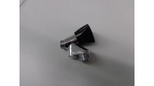 Wasmachine Beluchterkraan 1/2 verchroomd zwarte knop