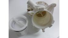 Beko WMD26148 pomp met filter. Art: 2880401800 / 116288040